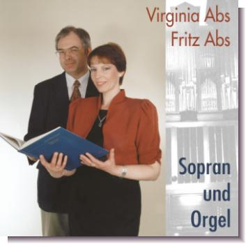 "CD 1-DL60130 Virginia Abs & Fritz Abs ""Orgel und Sopran"""
